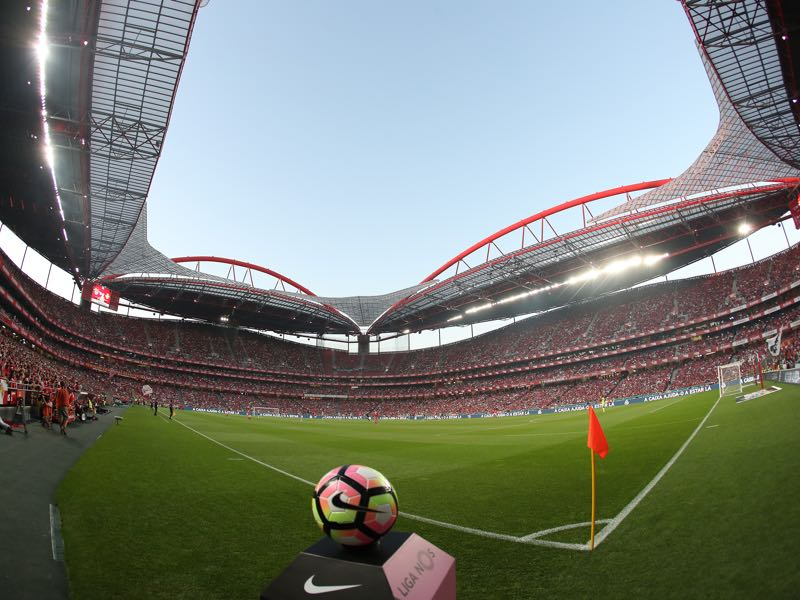 Benfica vs RB Leipzig will take place at the Estádio da Luz. (Photo by Carlos Rodrigues/Getty Images)