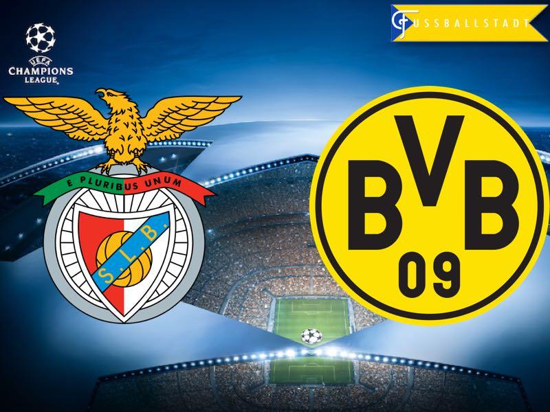 Benfica vs Borussia Dortmund – Champions League Preview