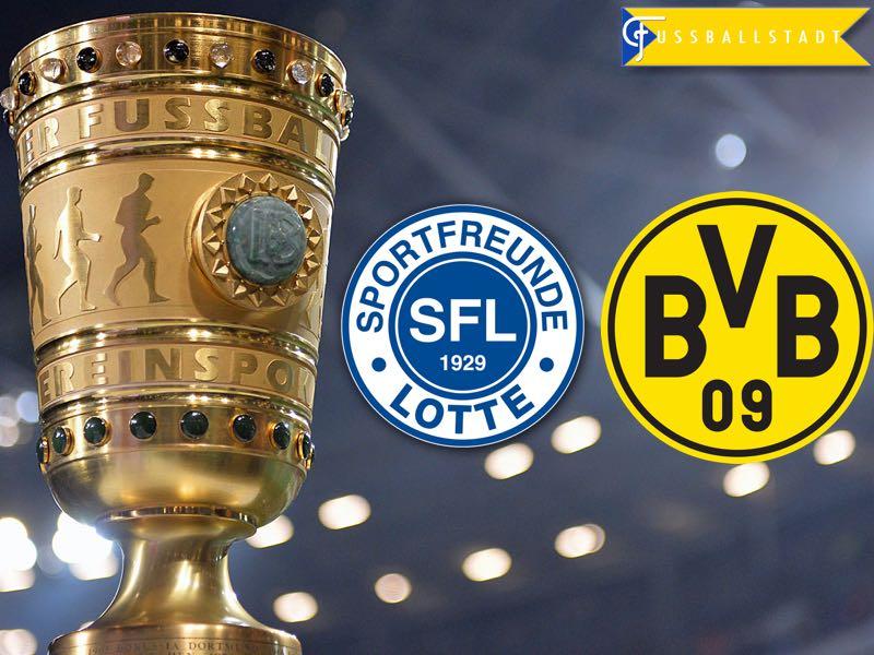 Sportfreunde Lotte vs Borussia Dortmund – DFB Pokal Preview