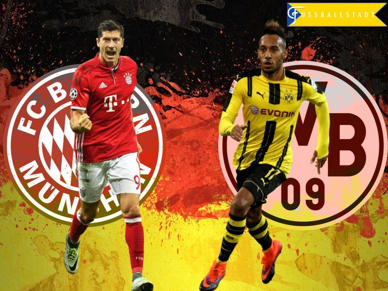 Bayern Vs Borussia Dortmund Der Klassiker Fussball Stadt