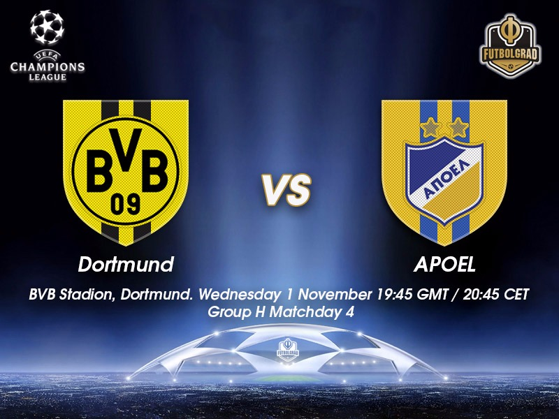 Borussia Dortmund vs APOEL – Champions League Preview