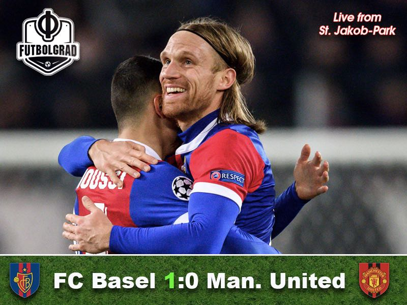 Basel v Manchester United – Match Report