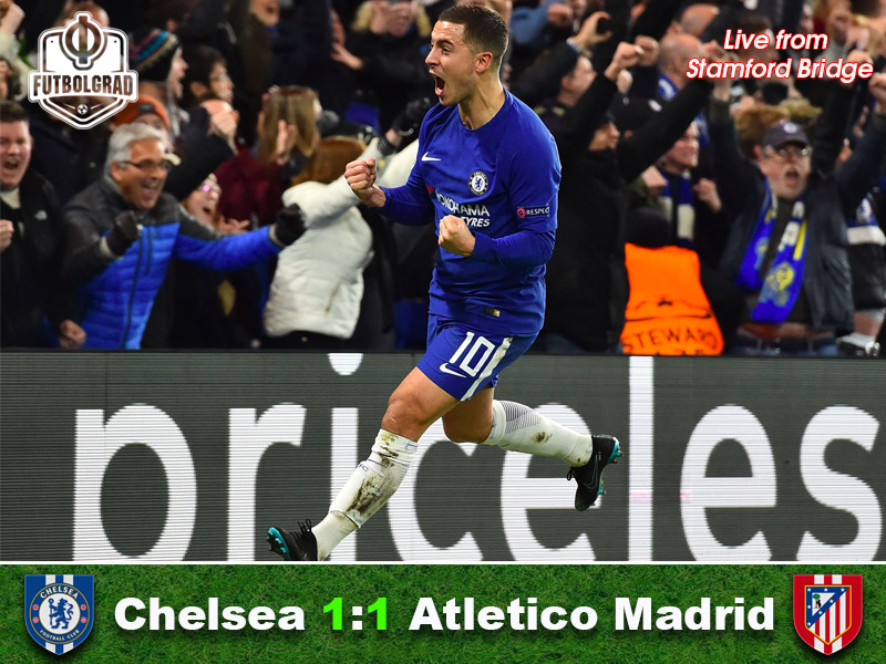Chelsea v Atletico Madrid – Champions League Match Report
