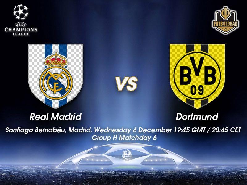 Real Madrid vs Borussia Dortmund – Champions League – Preview