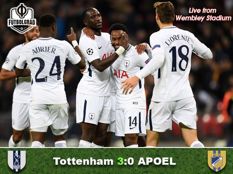 Tottenham v APOEL – Match Report