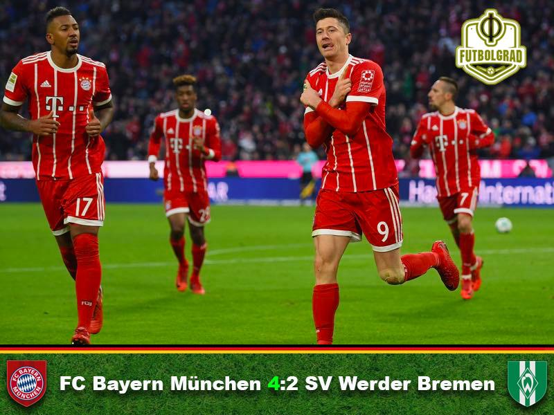 Bayern München vs Werder Bremen – Match Report
