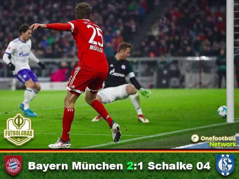 Bayern München vs Schalke – Bundesliga Match Report