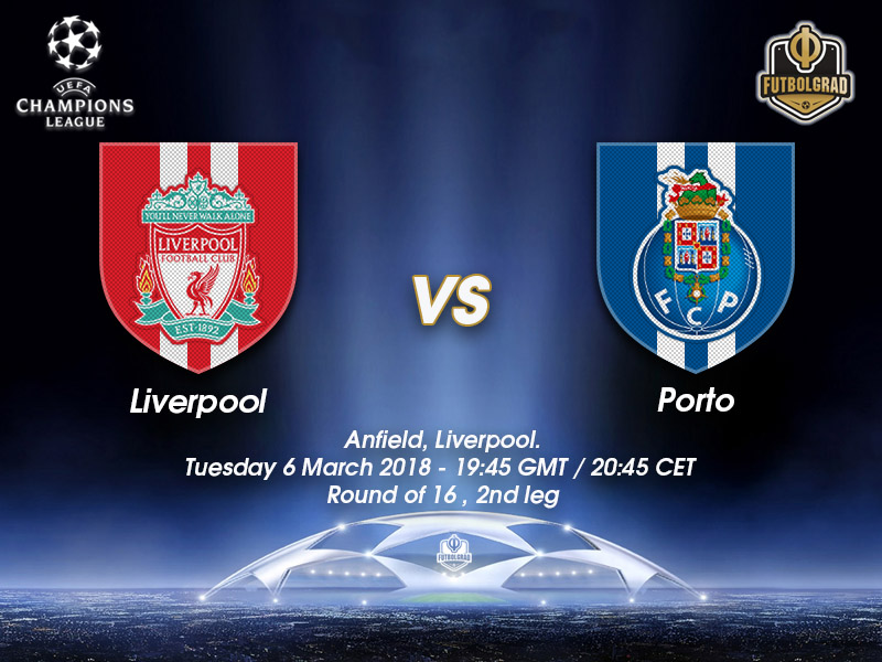 Liverpool vs Porto – Champions League – Preview