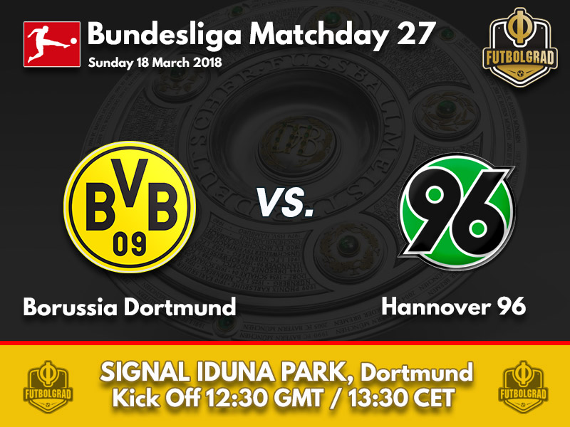 Borussia Dortmund vs Hannover – Bundesliga – Preview