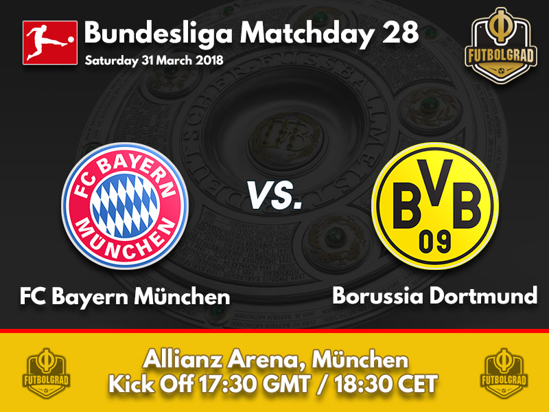 Bayern vs Dortmund – Bundesliga – Preview