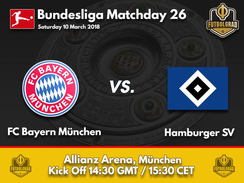 Bayern München vs Hamburg – Bundesliga – Preview