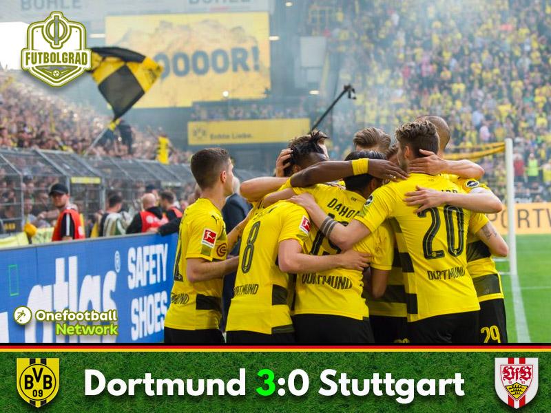 Borussia Dortmund vs Stuttgart – Bundesliga – Match Report