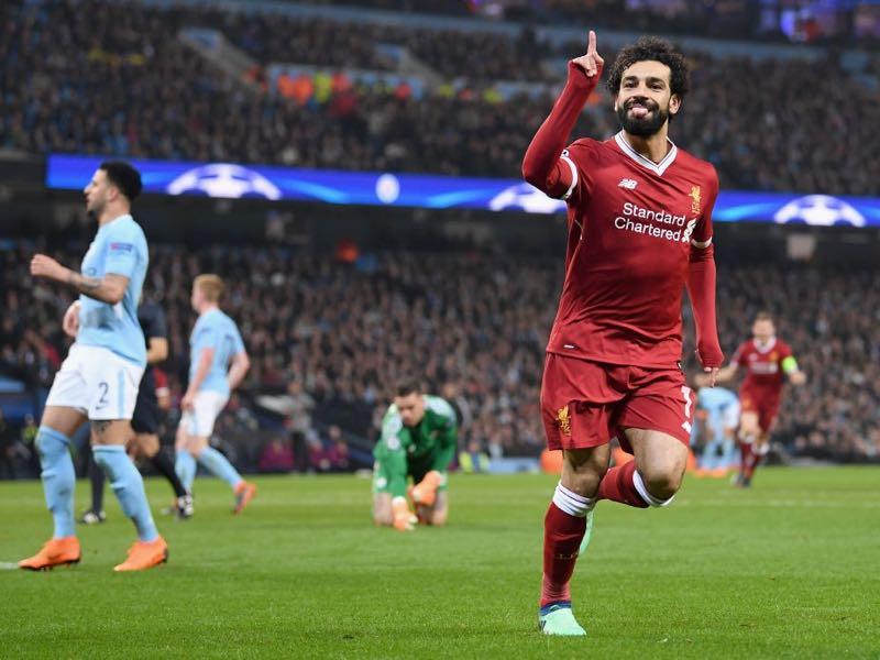 Manchester City V Liverpool Uefa Champions League Quarter