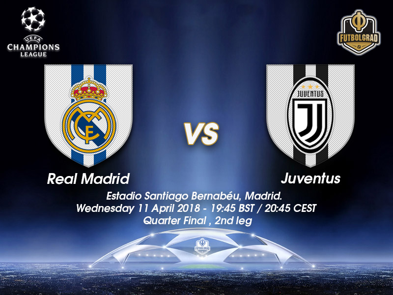 Real Madrid vs Juventus – Champions League – Preview