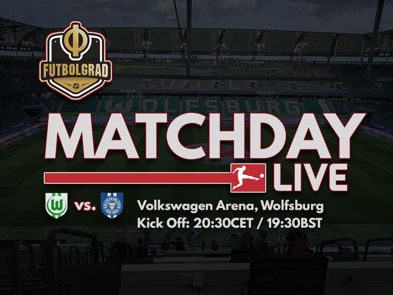 Wolfsburg vs Holstein Kiel – Bundesliga Relegation 2018 – LIVE