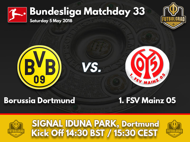 Dortmund want to cap of Champions League qualification against Mainz