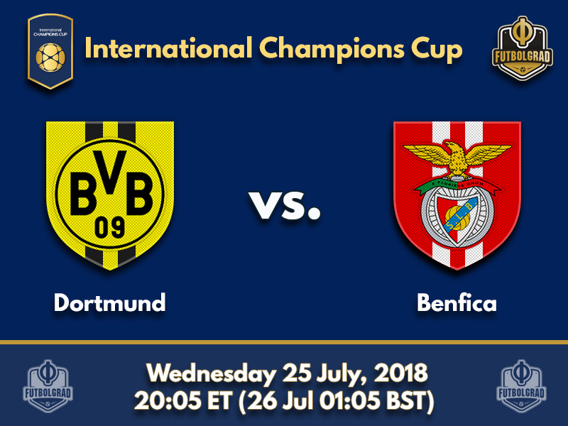 Dortmund and Benfica face each other on Heinz Field in Pittsburgh