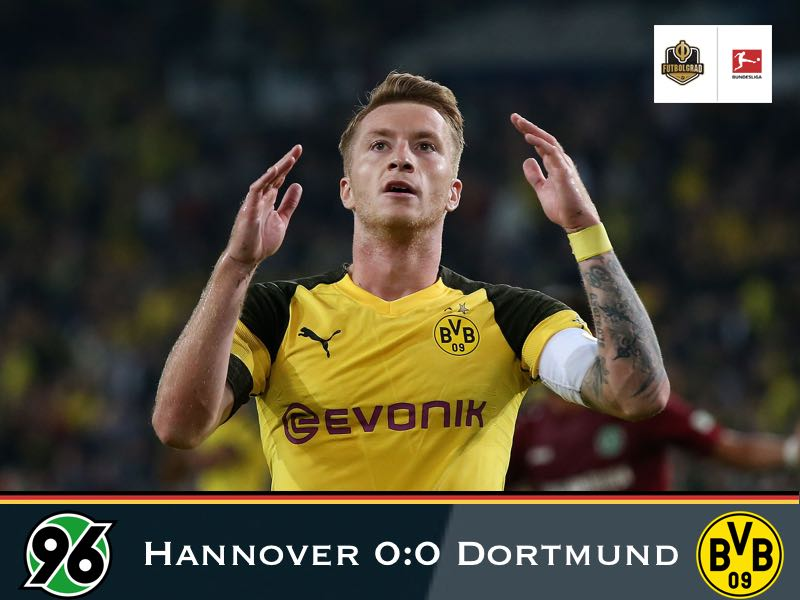 Hannover fight Borussia Dortmund to a standstill at the HDI-Arena