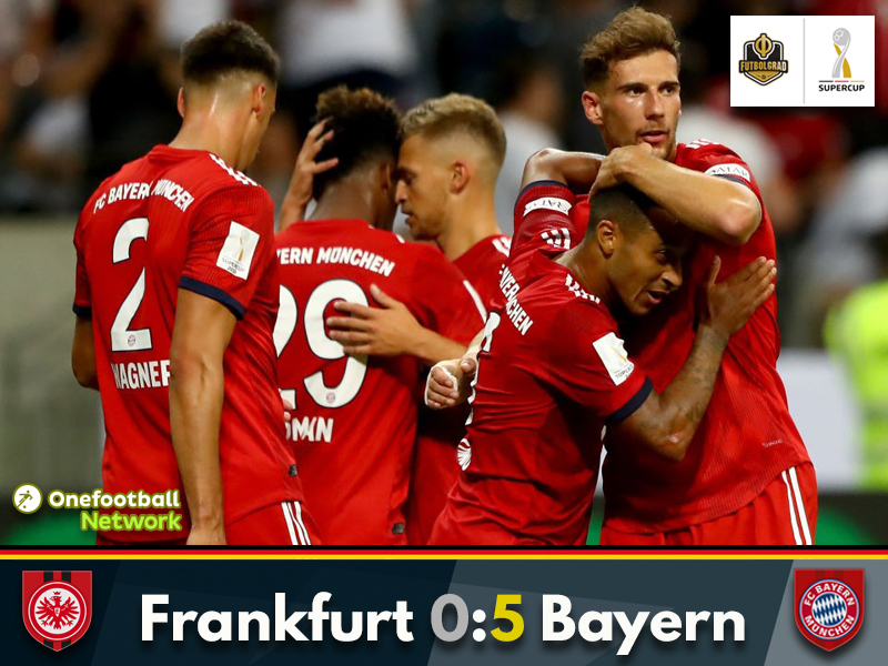 Frankfurt routed as Bayern inflict revenge for DFB Pokal final defeat