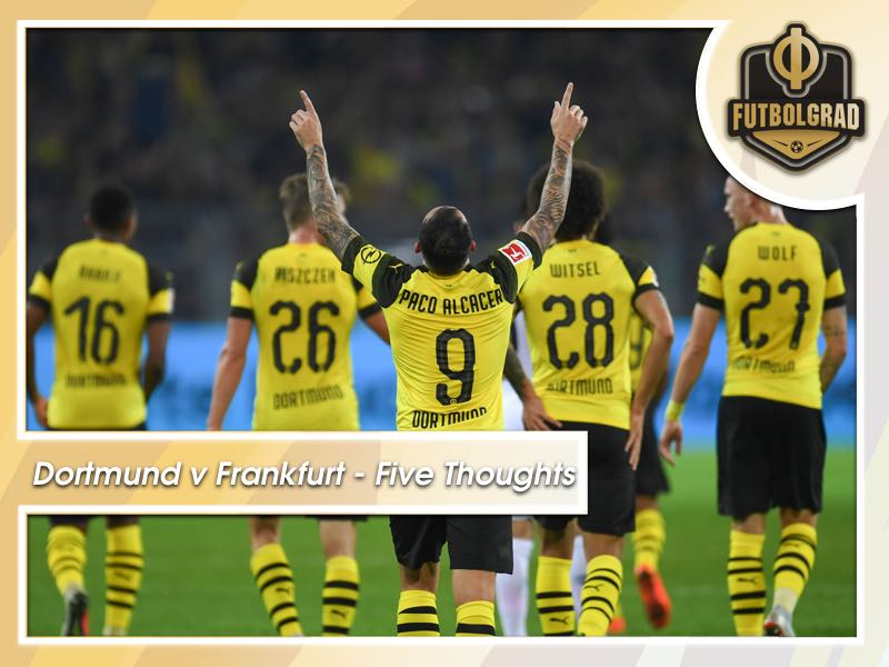 Borussia Dortmund v Eintracht Frankfurt – Five talking points