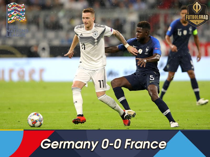 Despite a spell of dominance, Germany only manage a 0-0 draw against France