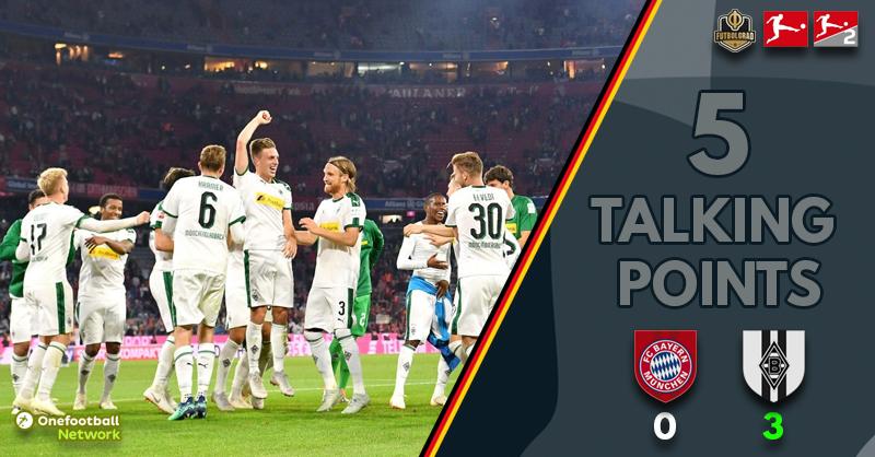 Bayern vs Borussia Mönchengladbach