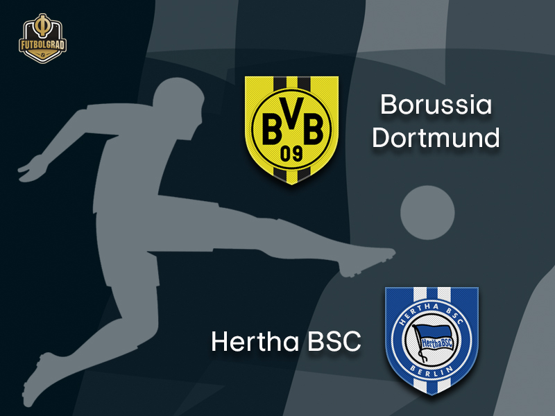 After passing the character test – Dortmund look to confirm the Atlético result against Hertha