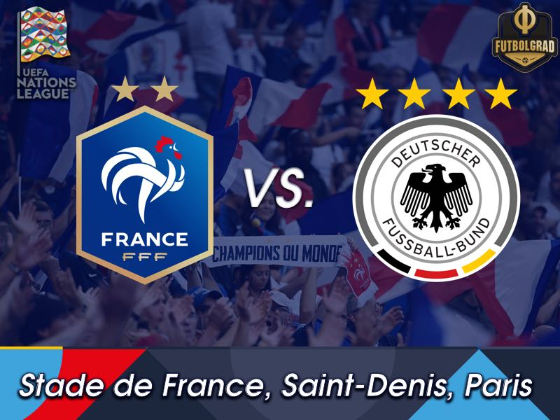 Germany look to turn the tide in Paris against world champions France