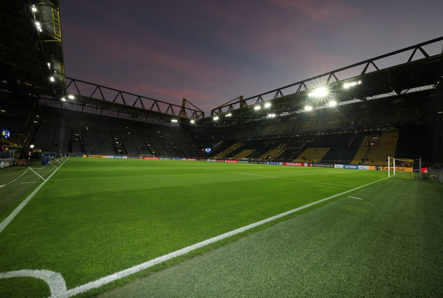 Borussia Dortmund vs Union Berlin will take place at the SIGNAL IDUNA Park in Dortmund (Photo by Christof Koepsel/Bongarts/Getty Images)