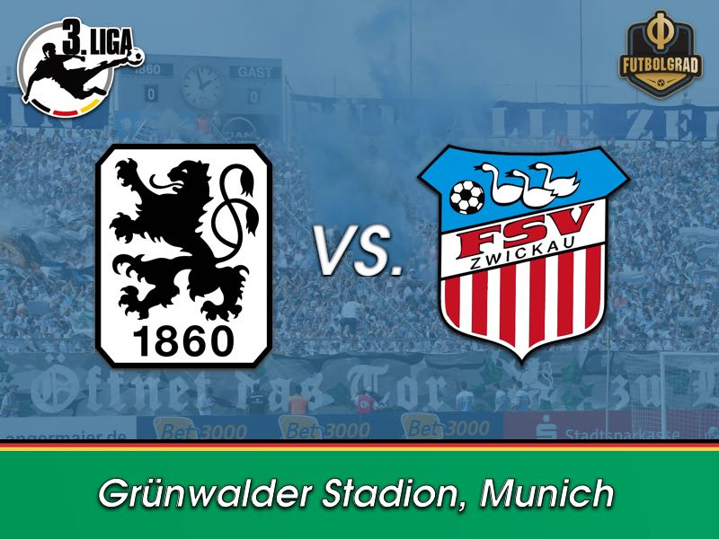 1860 Munich want improved result against Zwickau