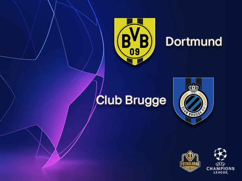 Borussia Dortmund want to get the job done when they host Brugge