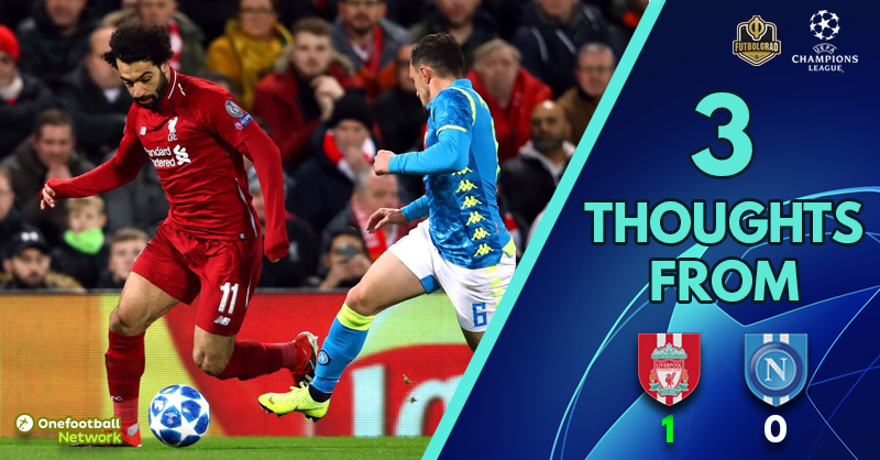 A thrilling encounter with two defining moments – Three Thoughts from Liverpool vs Napoli