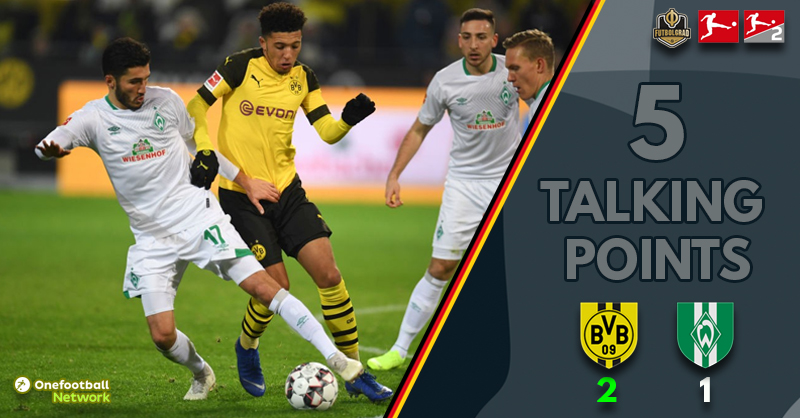 Dortmund v Bremen – Five Talking Points