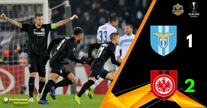 Frankfurt make it six out of six after beating Lazio in Rome