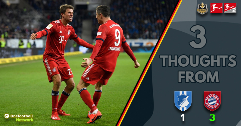 'A Bavarian swagger' and 'poor foresight?' – Three thoughts from Hoffenheim vs Bayern