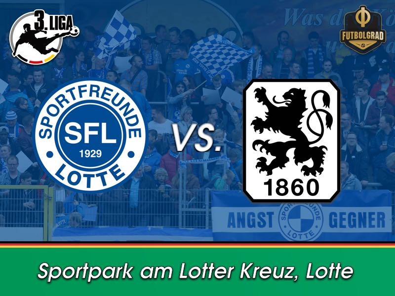 Lotte host an 1860 Munich side that wants to forget a drama filled winter break