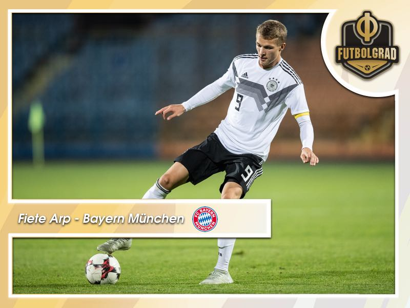 Fiete Arp – Generation Next for Bayern
