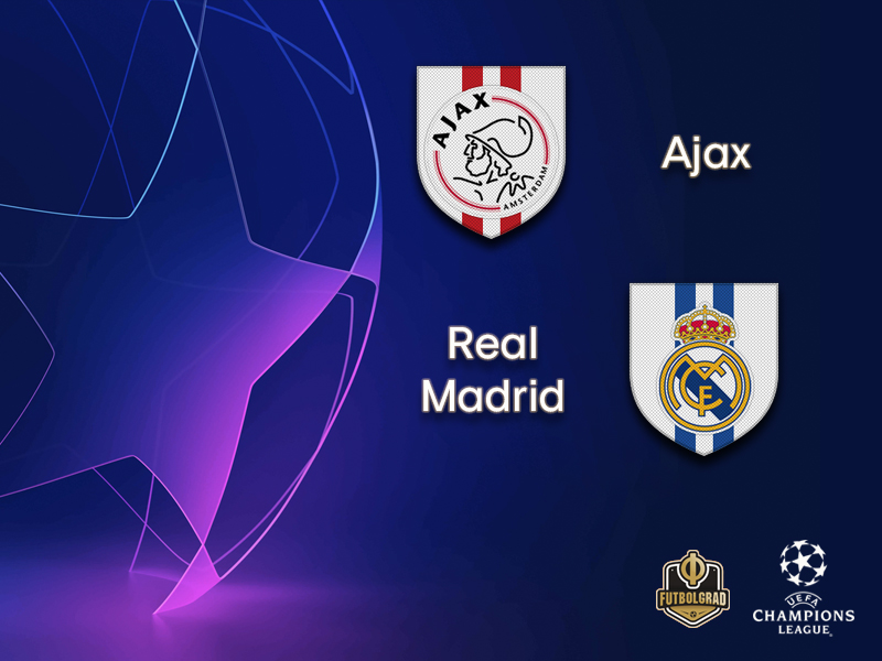 Ajax face historic burden when they host Real Madrid