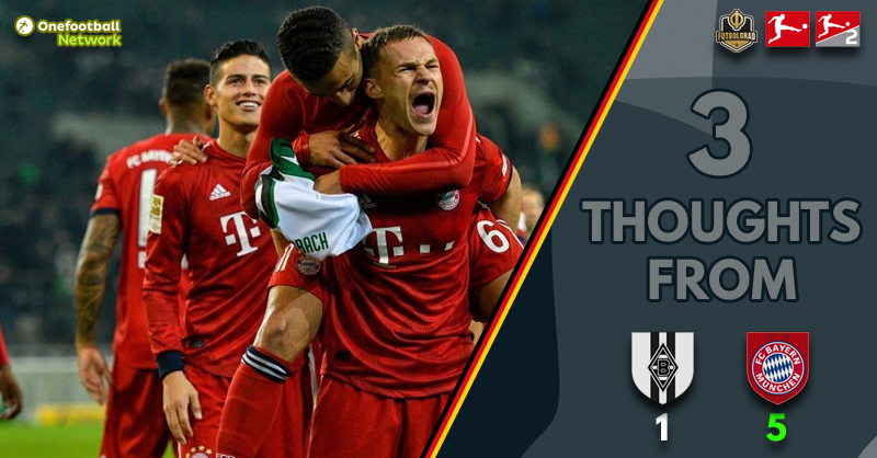 'Concentration Problems' and 'Title Race On' – Three Thoughts From Gladbach vs Bayern