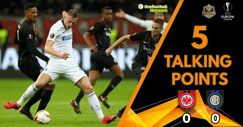 """Penalty Controversy"" and ""Inter ripe for picking"" – Talking Points from Frankfurt v Inter"