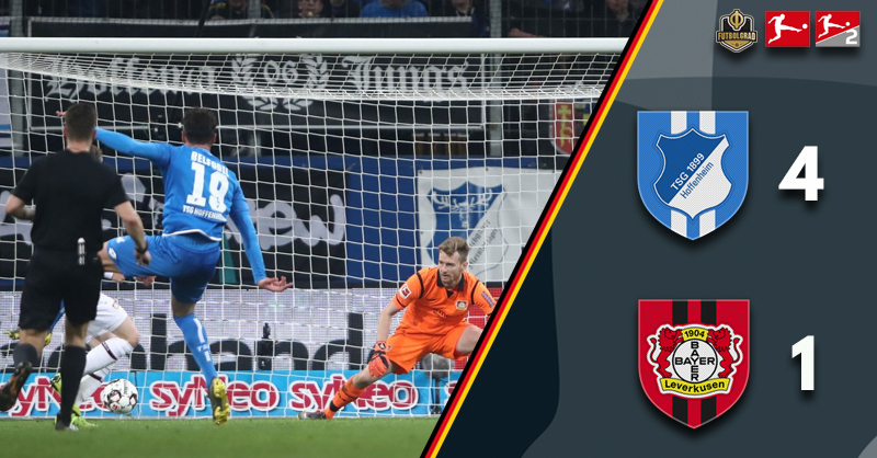 Hoffenheim power past Leverkusen with ease