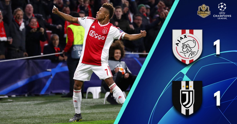 Ajax held to a draw by Cristiano Ronaldo and Juventus Turin