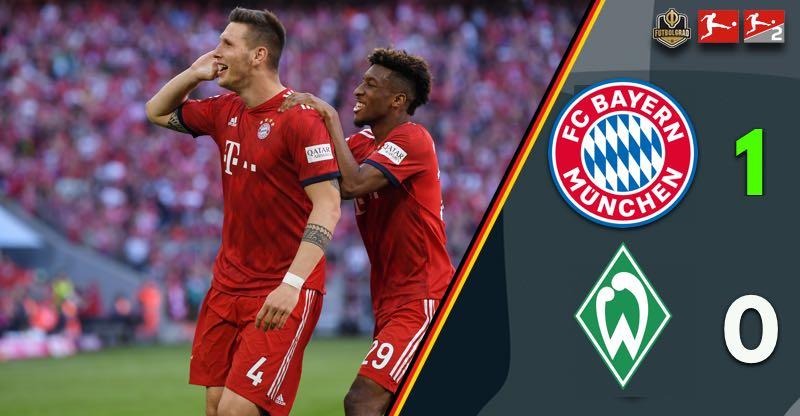 Bayern break down Werder and put pressure on Dortmund