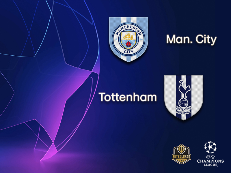 Manchester City under pressure against Tottenham