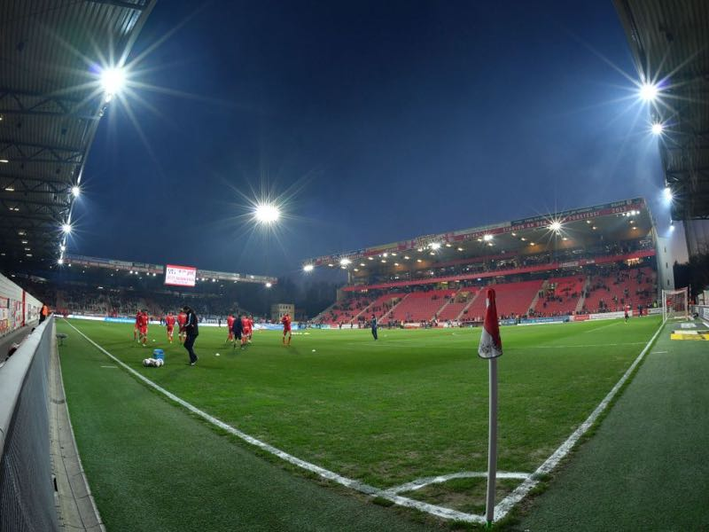 Union Berlin vs Hertha Berlin will take place at the Stadion an der Alten Försterei (Photo by Thomas F. Starke/Bongarts/Getty Images)
