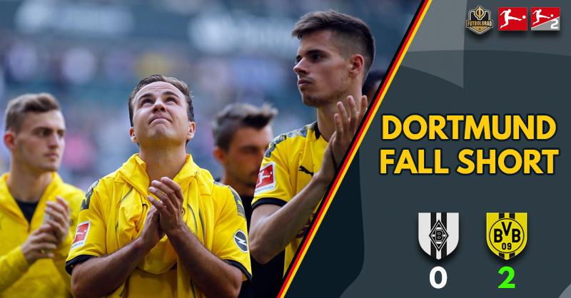 Borussia Dortmund win against Gladbach but fall short in dramatic title race