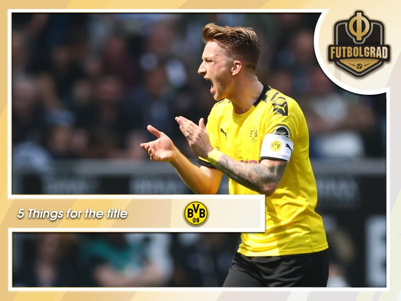 5 things Dortmund need to do to win the Bundesliga next season