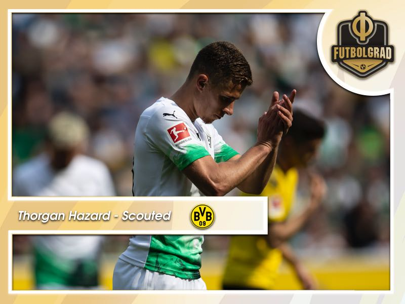 Thorgan Hazard – Borussia Dortmund's Bargain Buy Scouted
