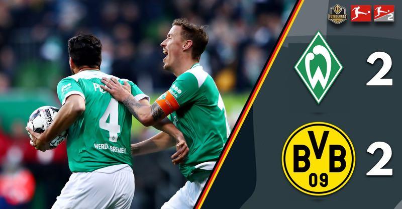 Werder stage comeback to end Borussia Dortmund's title challenge