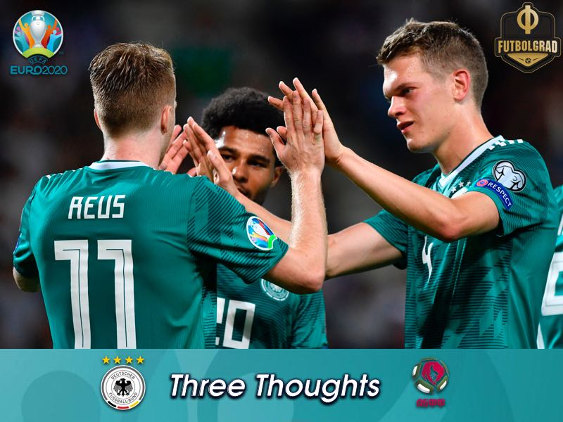 Half the job done, Germany brush aside Belarus